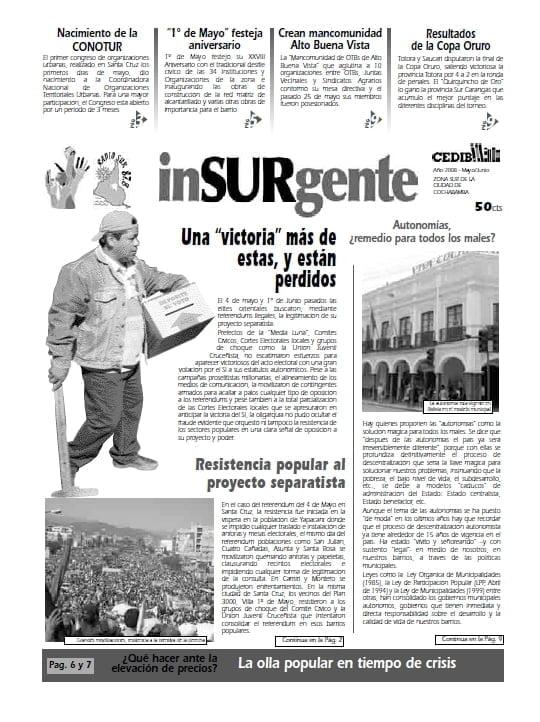 inSURgente, junio 2008