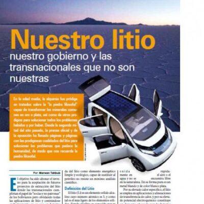 Petropress16_ART2_nuestro litio, nuestro gobierno y las transnacionales que no son nuestras