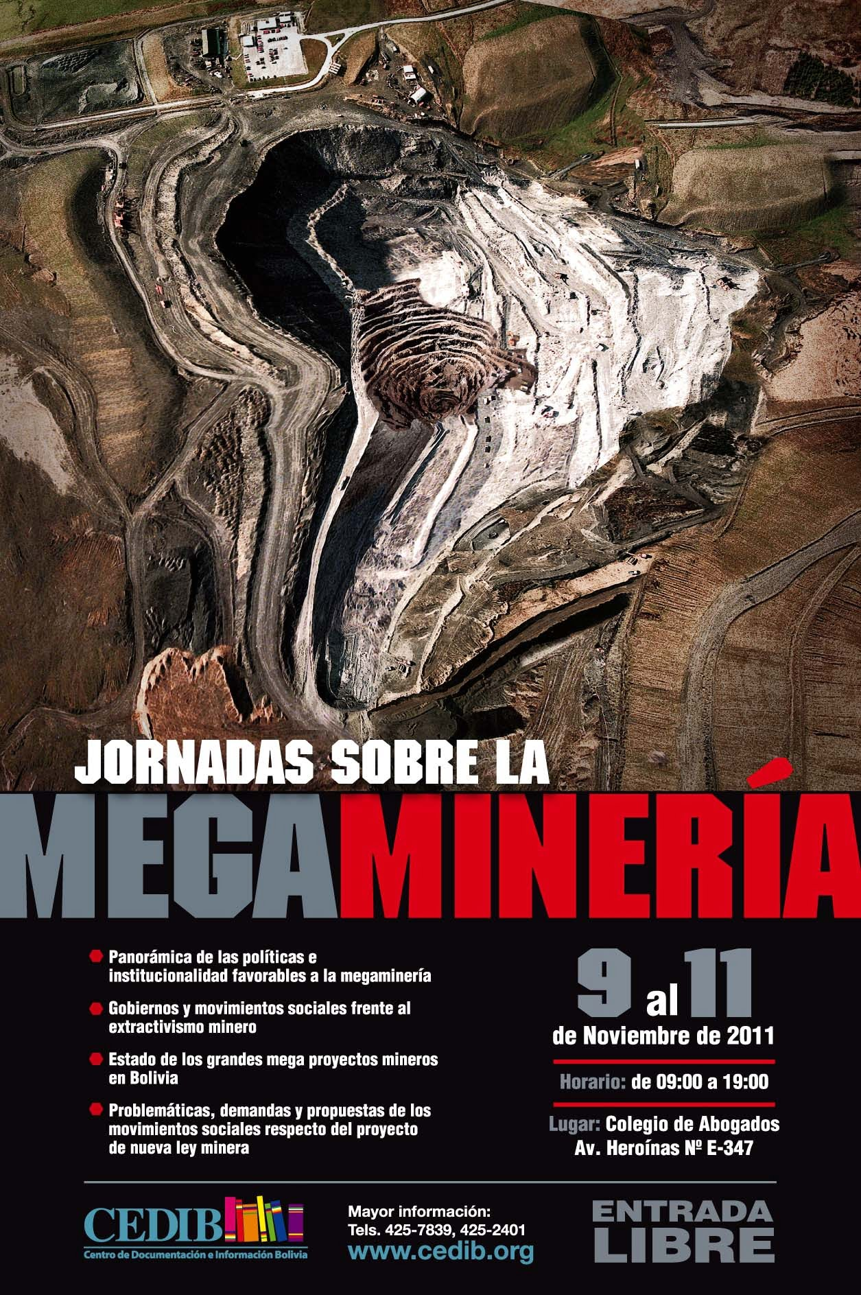 Debate conclusivo en Jornadas sobre Megaminería