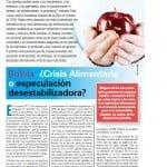 Bolivia: ¿Crisis Alimentaria o especulación desestabilizadora? (Petropress 11, agosto 2008)