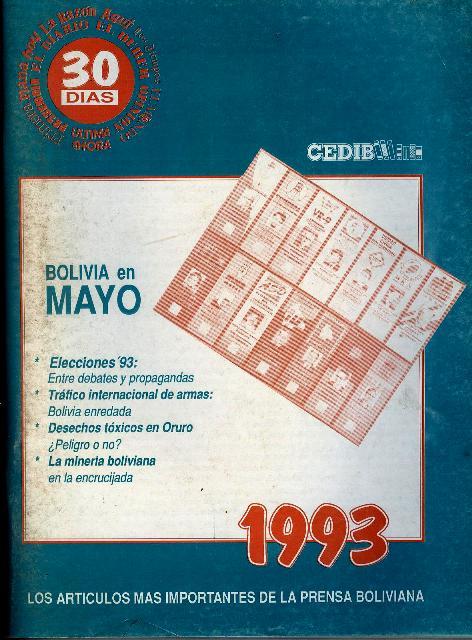 30 Días. Bolivia en mayo 1993