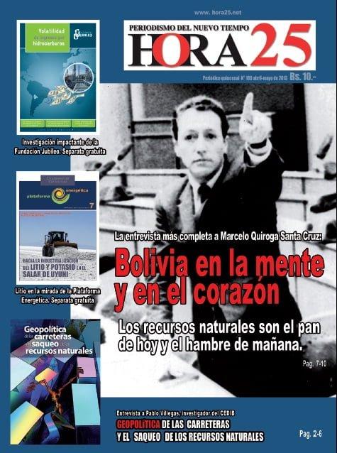 Entrevista a Pablo Villegas: Bolivia en proceso de recolonización por el imperialismo a través de Brasil (Hora 25, 14.5.13)