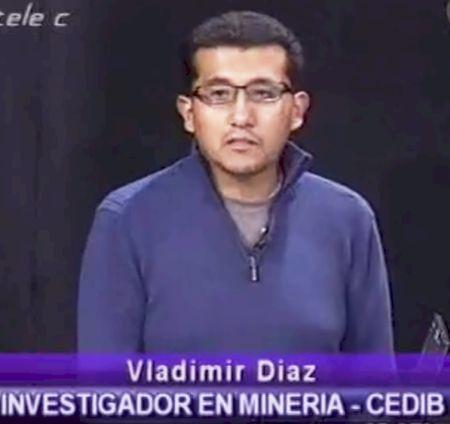 """""""Minería hoy en Bolivia"""" – entrevista a Vladimir Díaz, investigador en minería CEDIB (Vamos a andar, 09.6.13)"""