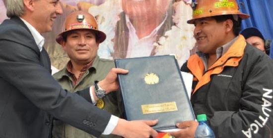 *Ley 535 de Minería y Metalurgia, promulgada 28.05.2014