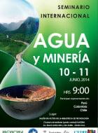 agua y minería, seminario internacional