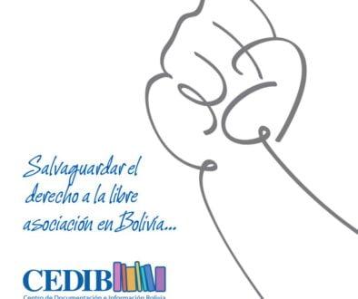 Una petición a la CIDH para salvaguardar el derecho a la libre asociación en Bolivia