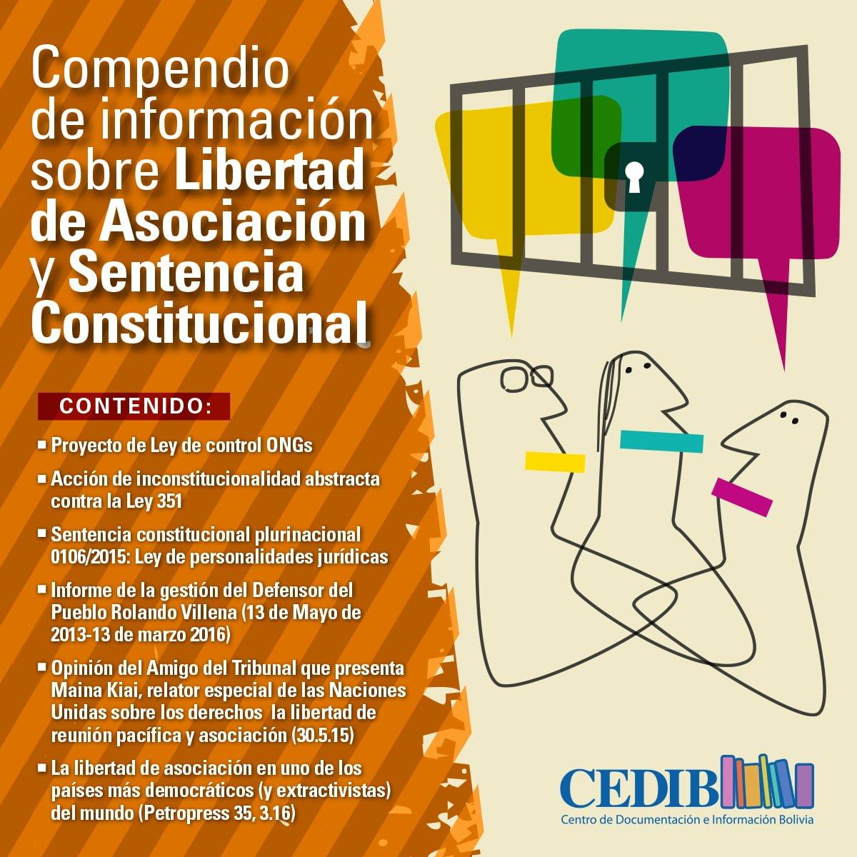 Compendio de información sobre Libertad de Asociación