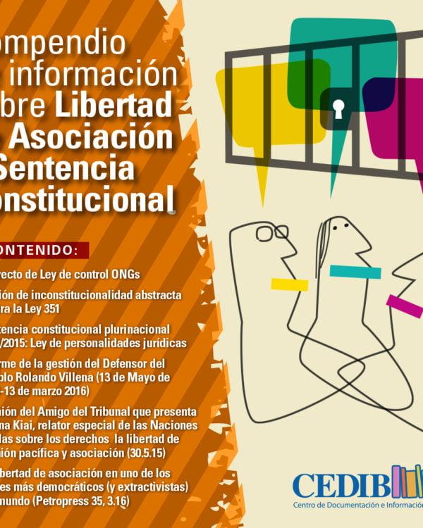 Compendio de información sobre Libertad de Asociación y Sentencia