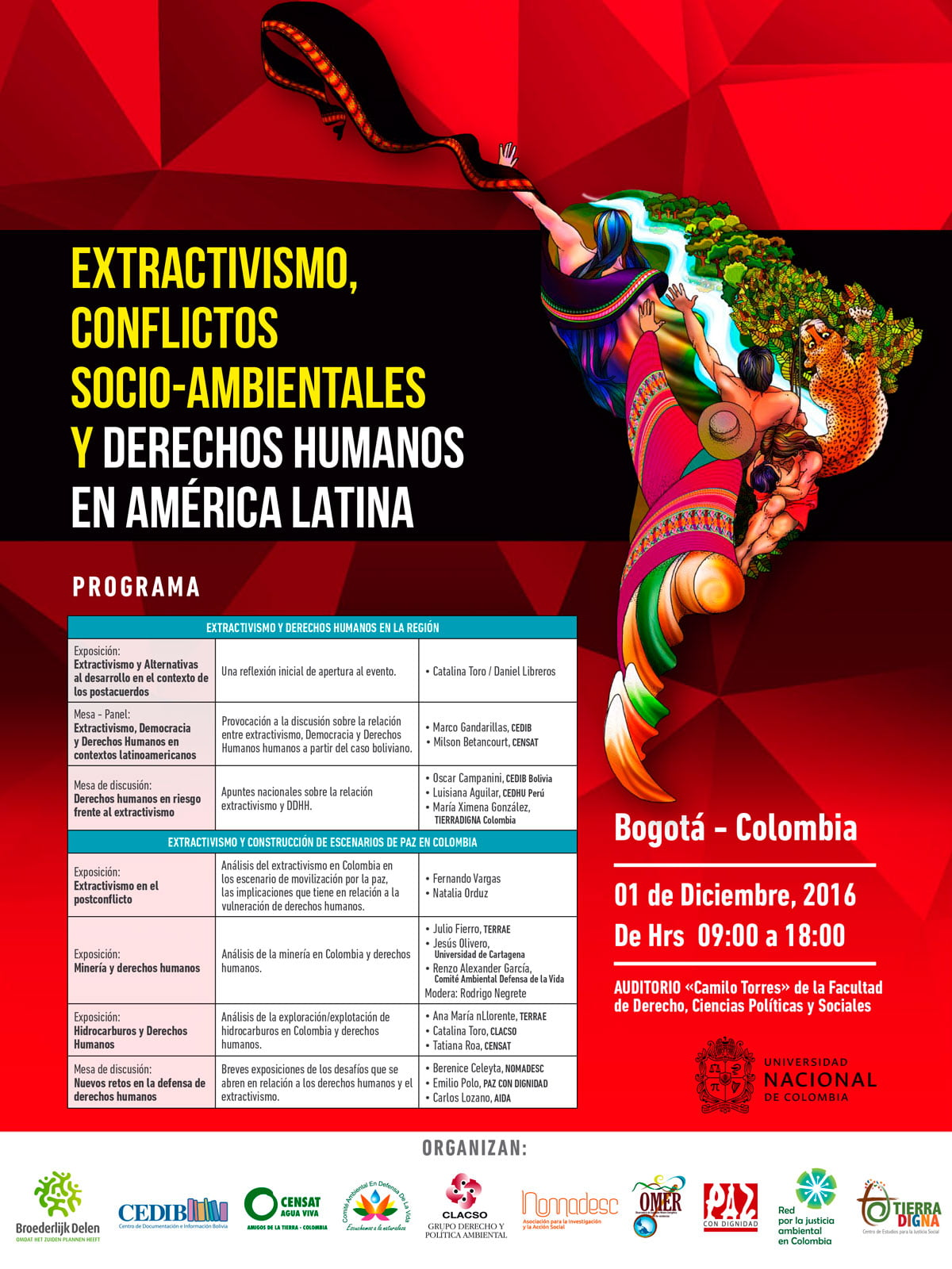 EXTRACTIVISMO, CONFLICTOS SOCIO AMBIENTALES Y DERECHOS HUMANOS EN aMÉRICA LATINA