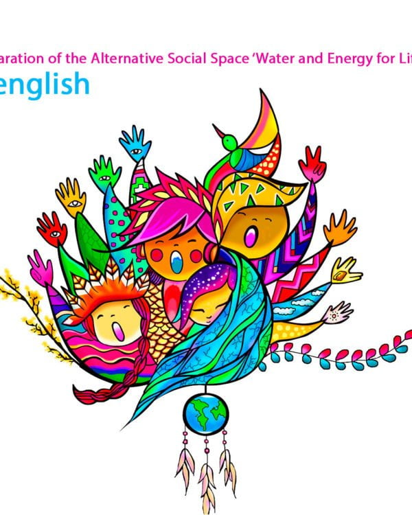 Declaration of the Alternative Social Space 'Water and Energy for Life'