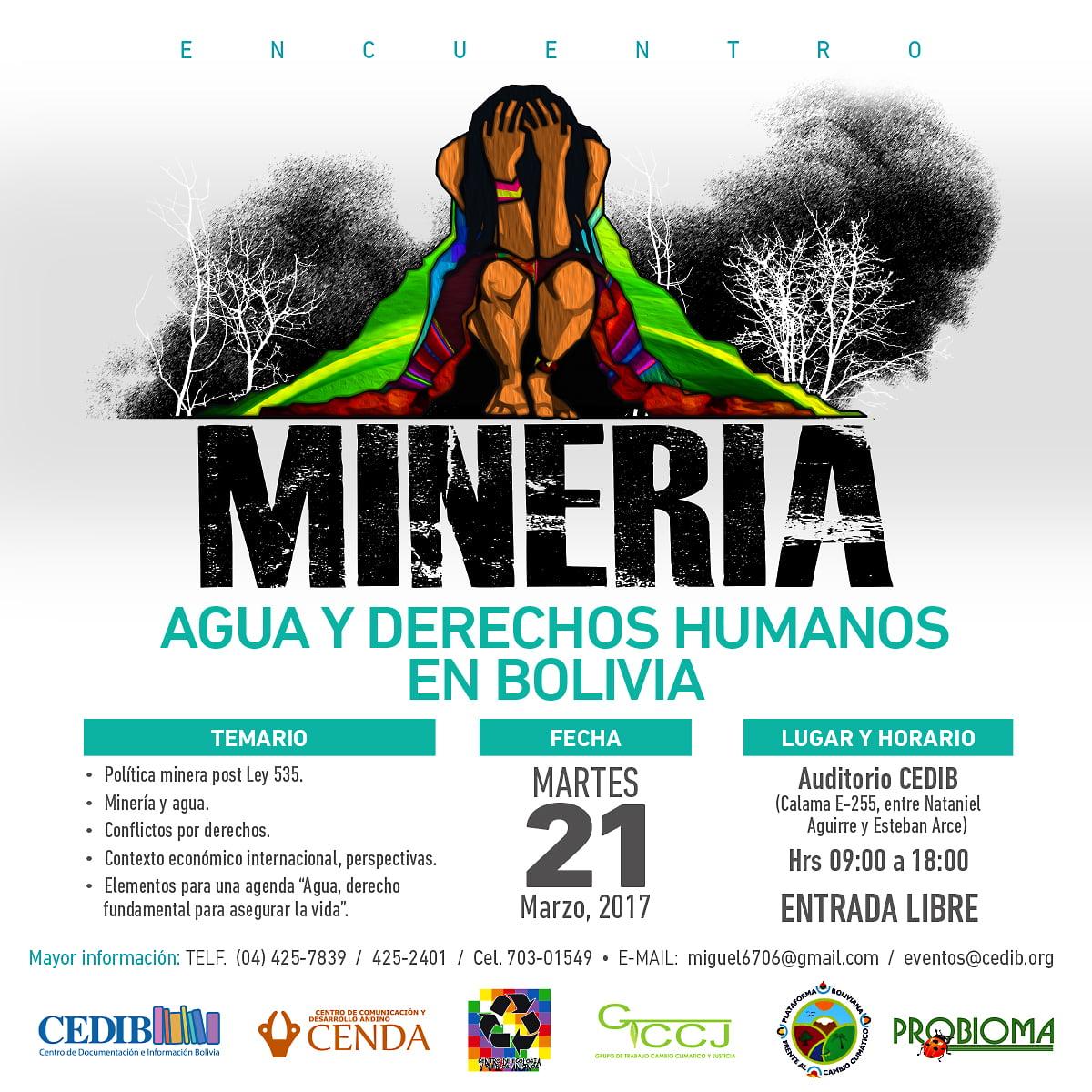 Minería, agua y derechos humanos