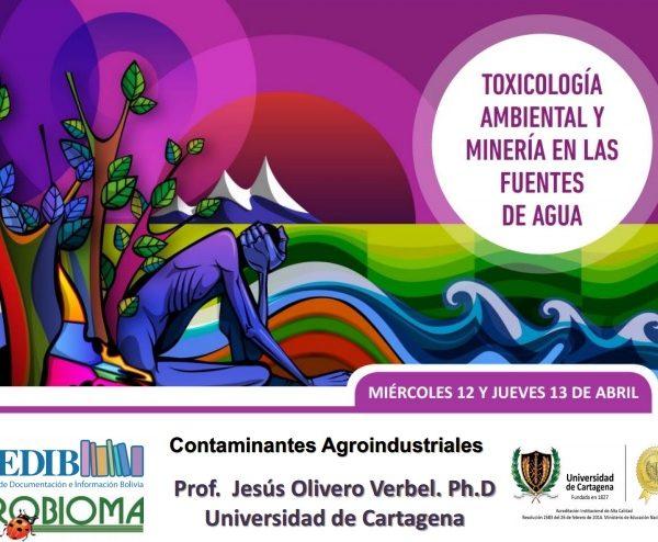 Contaminantes agroindustriales. Jesús Olivero
