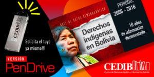 Base de datos: Derechos indígenas en Bolivia