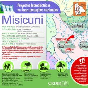 Misicuni: Proyectos hidroeléctricos en áreas protegidas de Bolivia