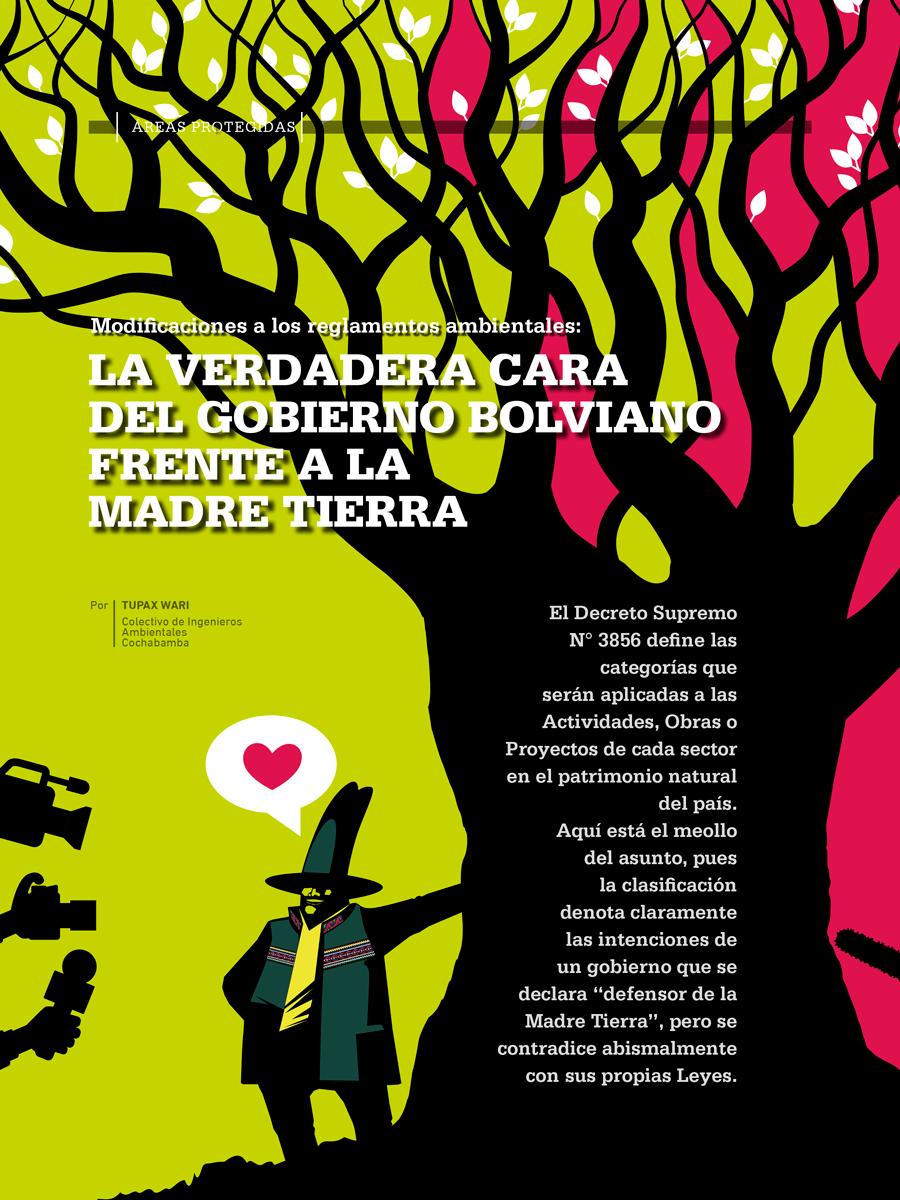 Modificaciones a los reglamentos ambientales: La verdadera cara del gobierno boliviano frente a la Madre Tierra