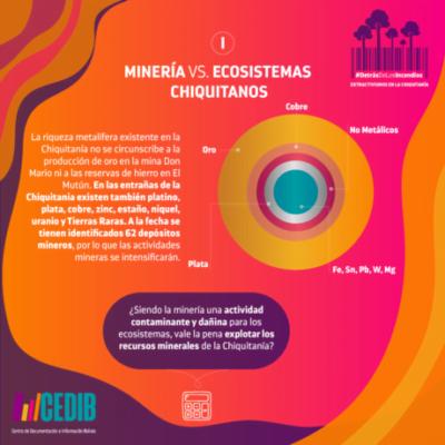 Extractivismos en la Chiquitania Bolivia - Incendios