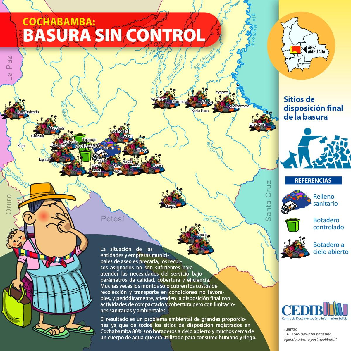 Cochababa Insostenible: Basura sin control