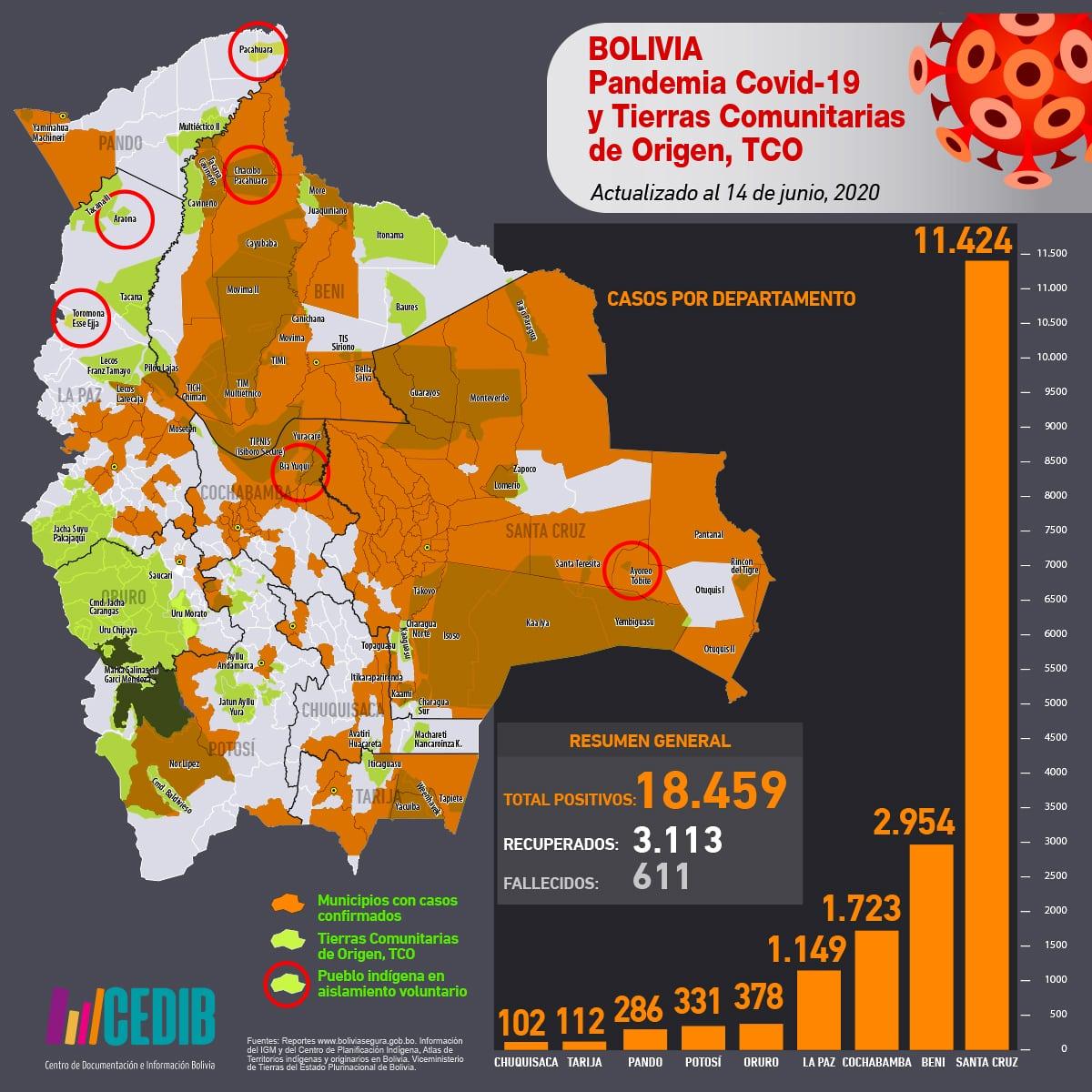 COVID19 en Bolivia y pueblos indígenas