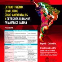 Extractivismo, conflictos socioambientales y derechos humanos en América Latina