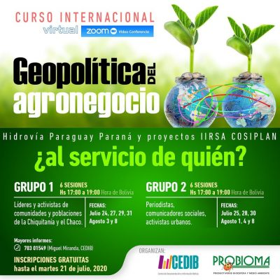 Geopolítica del agronegocio