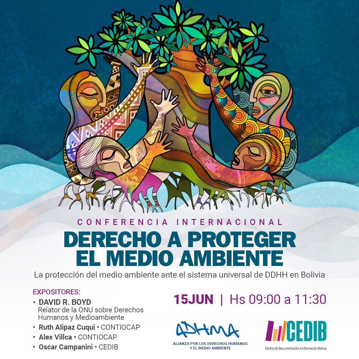 Derecho a proteger el medio ambiente en Bolivia