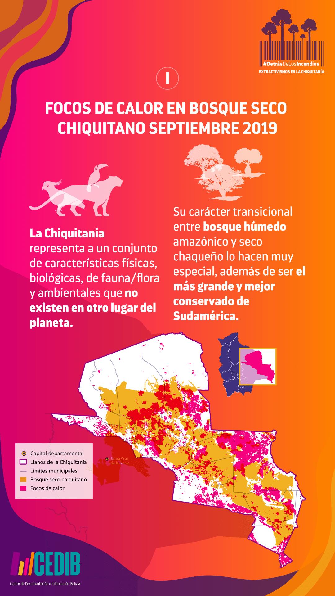 Detrás de los Incendios Extractivismos en la Chiquitanía