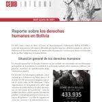 Boletin Derechos Humanos en Bolivia