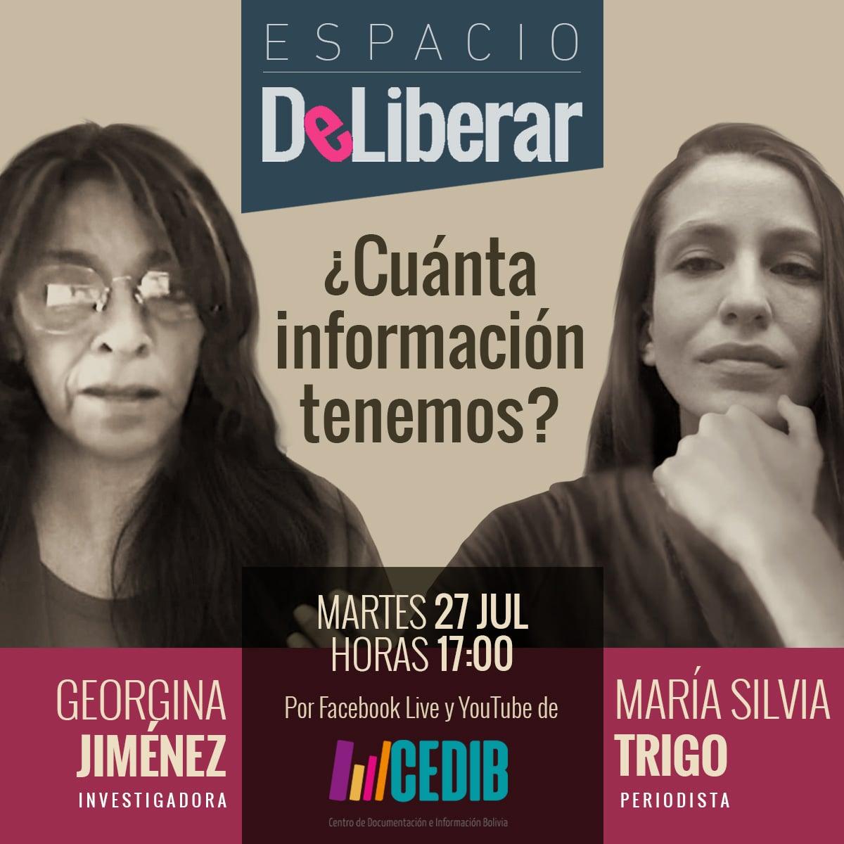 Derecho acceso a información en Bolivia