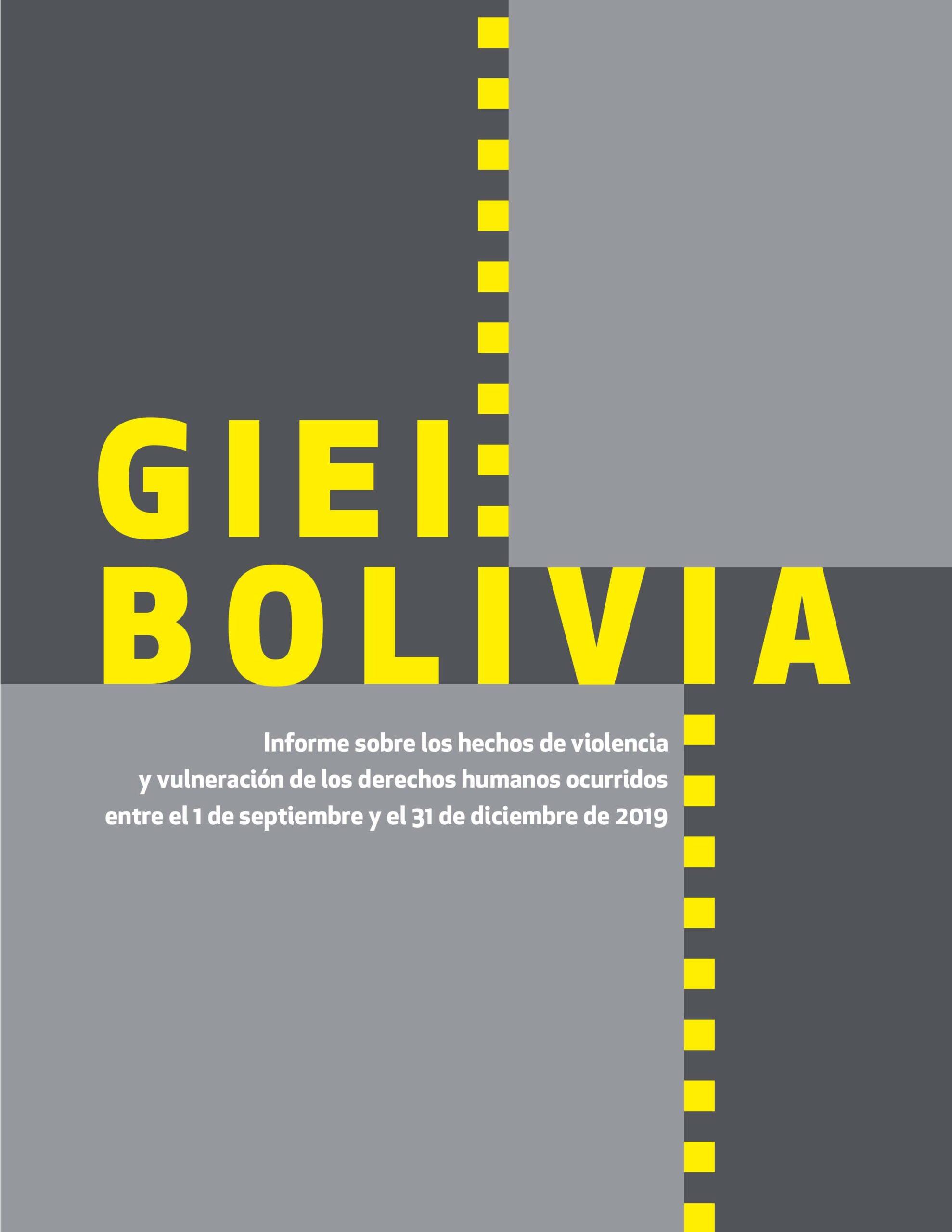 Informe GIEI Bolivia