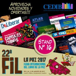 CEDIB en la Feria del Libro de La Paz