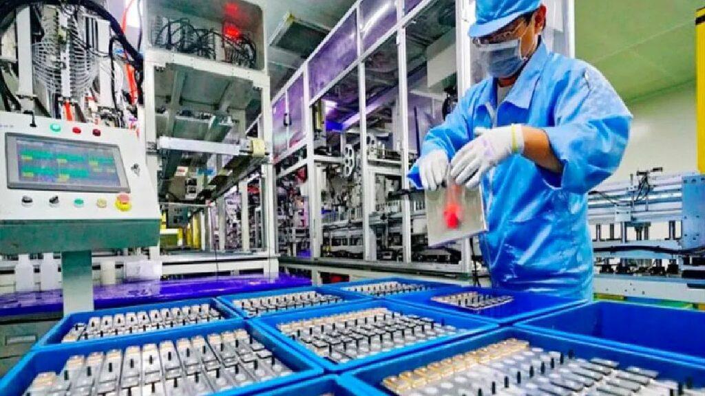 Planta de litio industrial