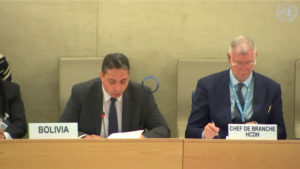 Bolivia en la ONU