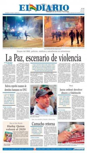 Bolivia reprobó examen de DDHH de la ONU